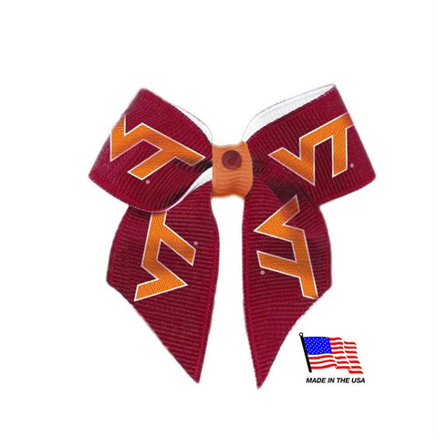 Virginia Tech Hokies Pet Hair Bow