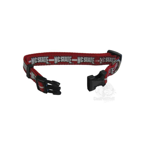 NC State Wolfpack Pet Reflective Nylon Collar