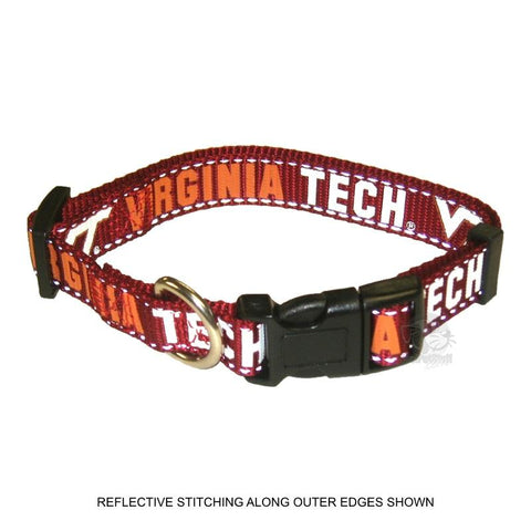 Virginia Tech Hokies Pet Reflective Nylon Collar