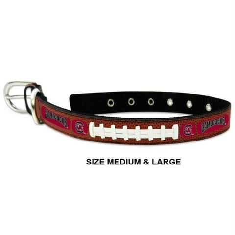 South Carolina Gamecocks Classic Leather Football Collar