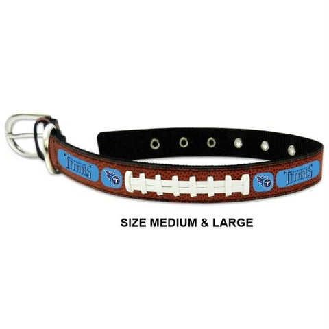 Tennessee Titans Classic Leather Football Collar