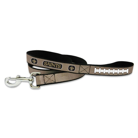 New Orleans Saints Reflective Football Pet Leash