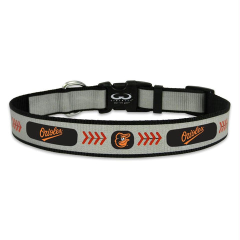 Baltimore Orioles Reflective Pet Collar