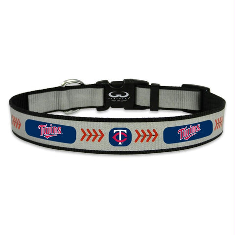Minnesota Twins Pet Reflective Collar