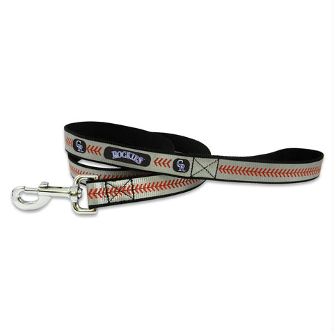 Colorado Rockies Pet Reflective Leash