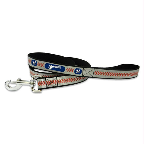 Milwaukee Brewers Pet Reflective Leash