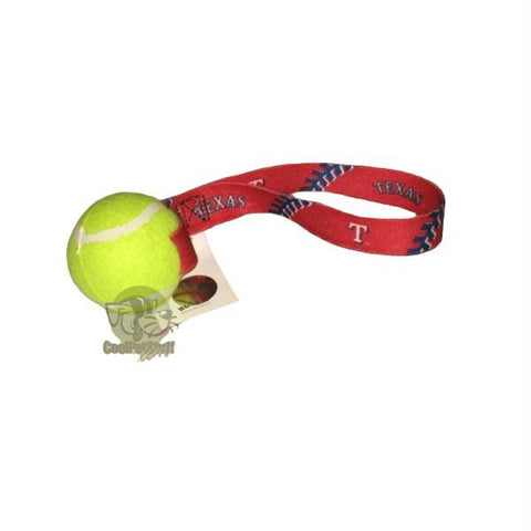 Texas Rangers Tennis Ball Toss Toy