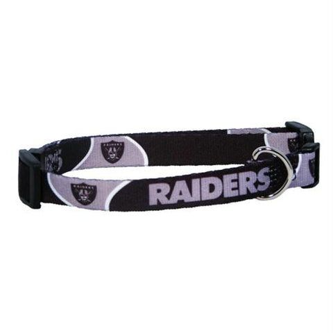 Oakland Raiders Pet Collar