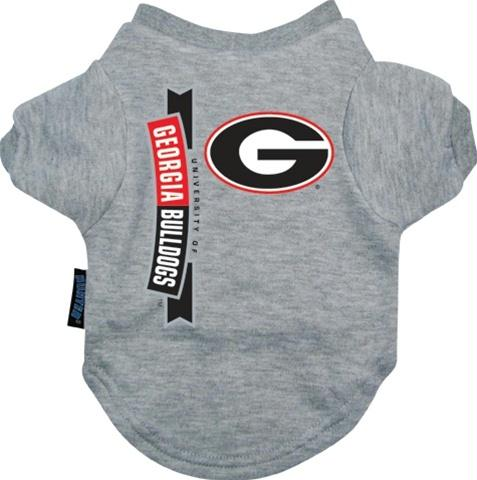Georgia Bulldogs Dog Tee Shirt