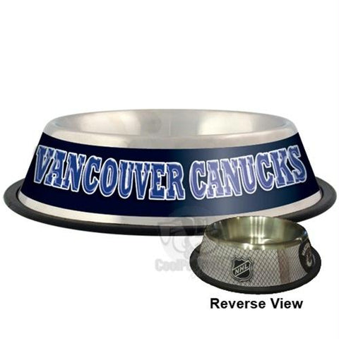 Vancouver Canucks Pet Bowl