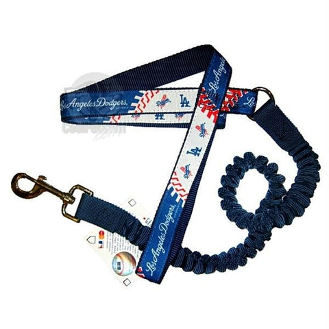 Los Angeles Dodgers Bungee Ribbon Pet Leash