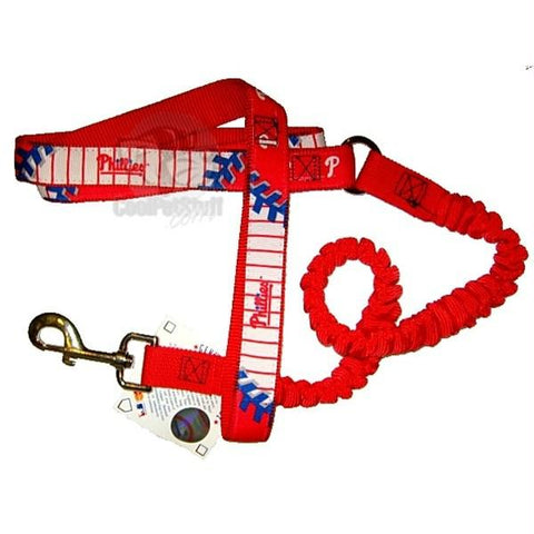 Philadelphia Phillies Bungee Ribbon Pet Leash