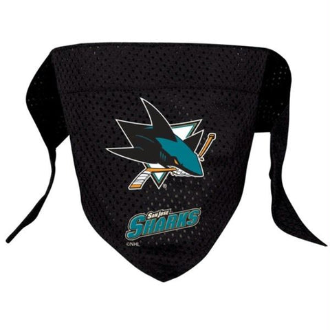 San Jose Sharks Mesh Pet Bandana