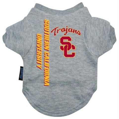 USC Trojans Pet Tee Shirt