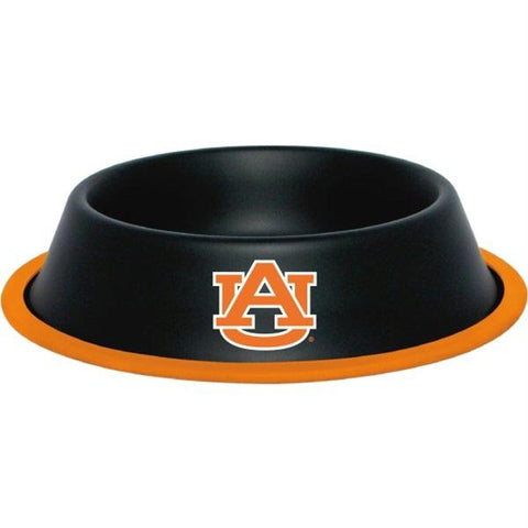 Auburn Tigers Gloss Black Pet Bowl
