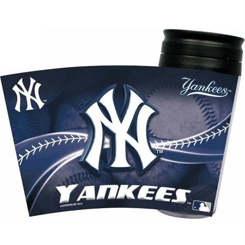 New York Yankees Acrylic Tumbler w- Lid