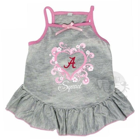 "Alabama Crimson Tide ""Too Cute Squad"" Pet Dress"