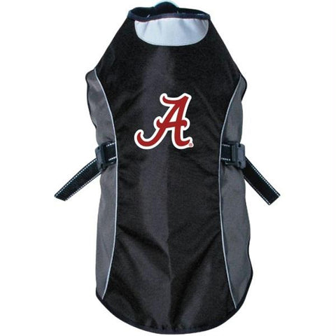 Alabama Crimson Tide Water Resistant Reflective Pet Jacket