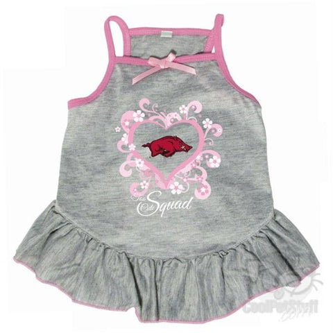 "Arkansas Razorbacks ""Too Cute Squad"" Pet Dress"