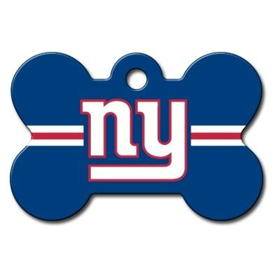 New York Giants Bone ID Tag