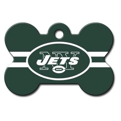 New York Jets Bone ID Tag