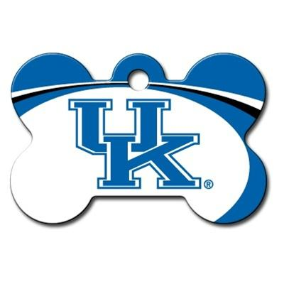 Kentucky Wildcats Bone ID Tag