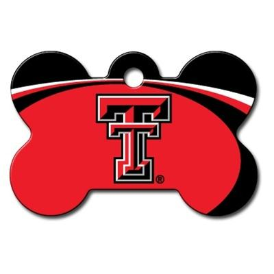 Texas Tech Red Raiders Bone ID Tag