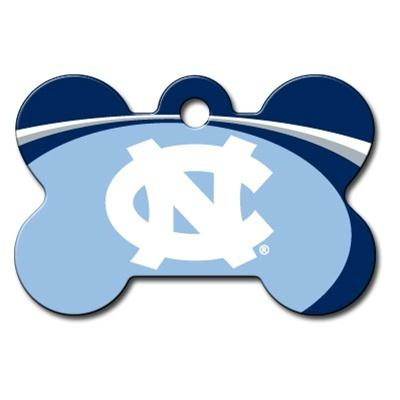 North Carolina Tarheels Bone ID Tag