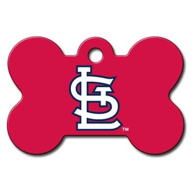 St. Louis Cardinals Bone ID Tag
