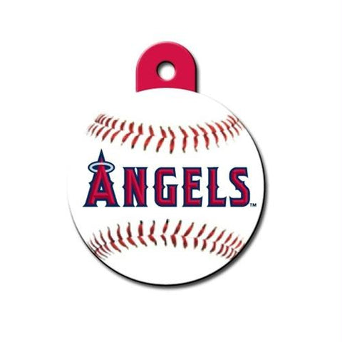 Los Angeles Angels Circle ID Tag