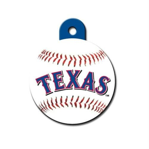 Texas Rangers Circle ID Tag