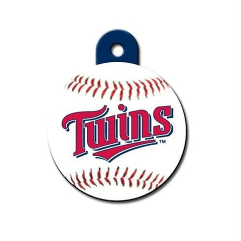 Minnesota Twins Circle ID Tag