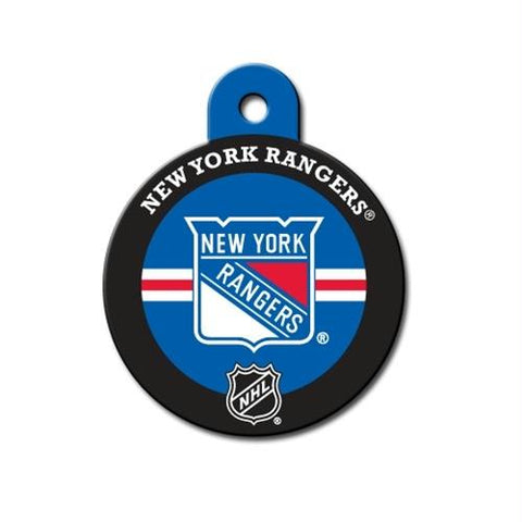 New York Rangers Circle ID Tag