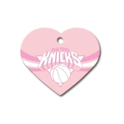 New York Knicks Heart ID Tag
