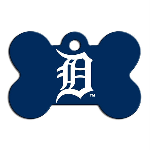 Detroit Tigers Bone ID Tag
