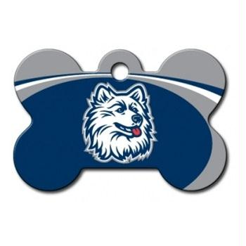 UConn Huskies Bone ID Tag