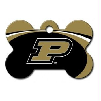 Purdue Boilermakers Bone ID Tag