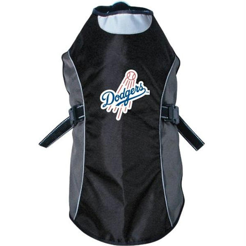 Los Angeles Dodgers Water Resistant Reflective Pet Jacket