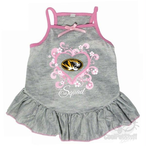"Missouri Tigers ""Too Cute Squad"" Pet Dress"