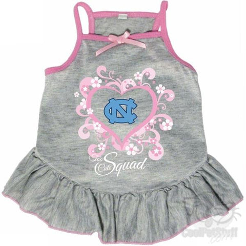 "North Carolina Tarheels ""Too Cute Squad"" Pet Dress"