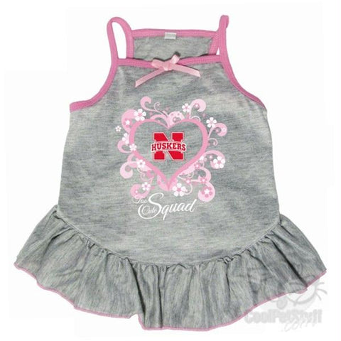 "Nebraska Huskers ""Too Cute Squad"" Pet Dress"