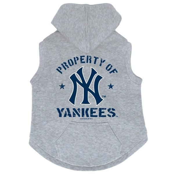 newest b2553 9364c New York Yankees Pet Hoodie Sweatshirt
