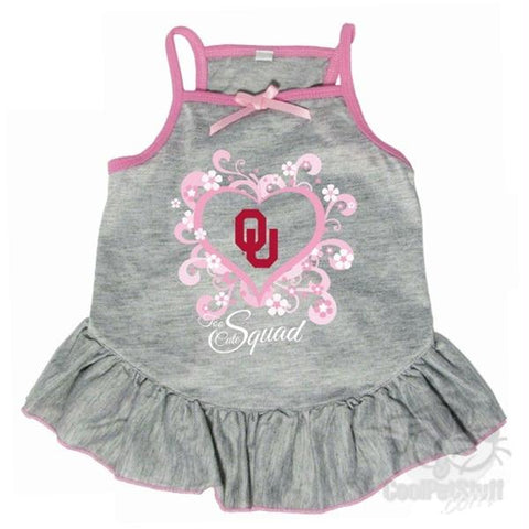 "Oklahoma Sooners ""Too Cute Squad"" Pet Dress"