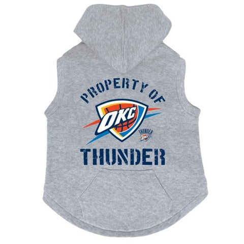 Oklahoma City Thunder Pet Hoodie Sweatshirt