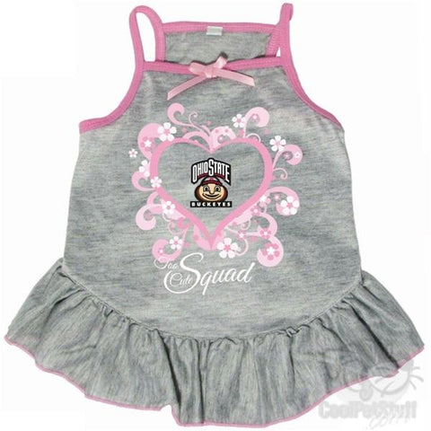 "Ohio State Buckeyes ""Too Cute Squad"" Pet Dress"