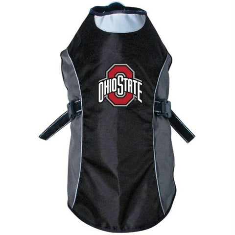 Ohio State Buckeyes Water Resistant Reflective Pet Jacket