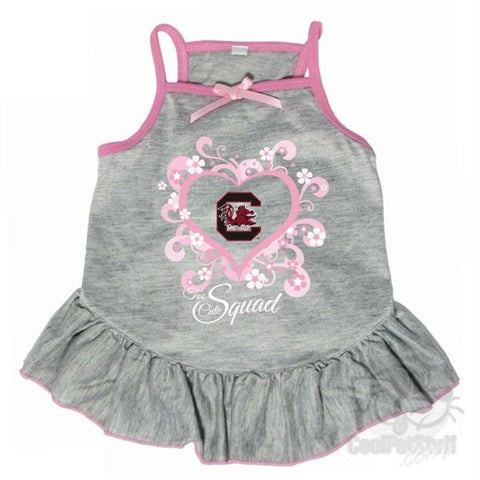 "South Carolina Gamecocks ""Too Cute Squad"" Pet Dress"