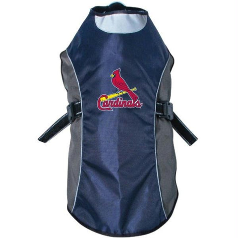 St. Louis Cardinals Water Resistant Reflective Pet Jacket