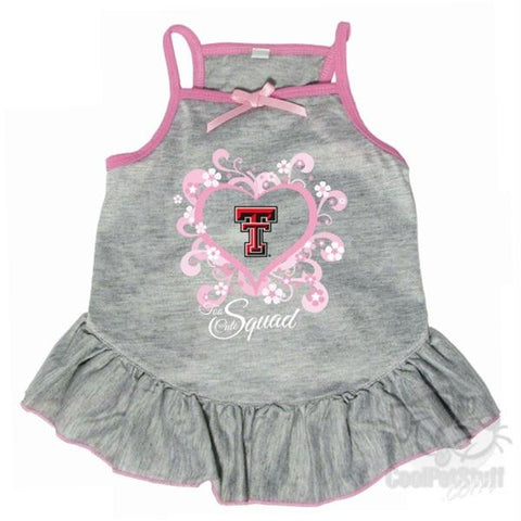 "Texas Tech Red Raiders ""Too Cute Squad"" Pet Dress"
