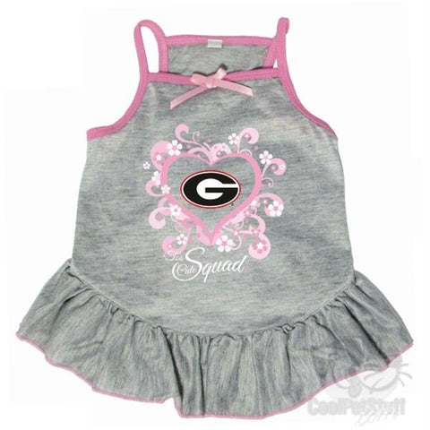 "Georgia Bulldogs ""Too Cute Squad"" Pet Dress"
